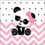 Molde Caixinha Acrilico Panda Rosa Menina