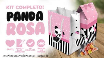 Personalizados Panda Rosa