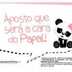 Plaquinha para festa Panda Rosa 08