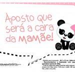 Plaquinha para festa Panda Rosa 09