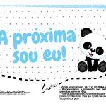 Plaquinhas Panda Azul 01
