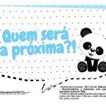 Plaquinhas para festa Panda Azul 03