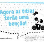 Plaquinhas Panda Azul 04