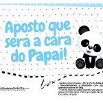 Plaquinhas Panda Azul 08