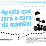 Plaquinhas Panda Azul 09