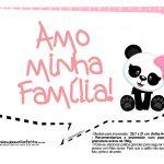 Plaquinhas para Festa Panda Menina 22