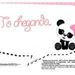 Plaquinhas para Festa Panda Menina 27