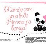 Plaquinhas para Festa Panda Menina 31