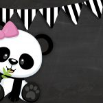 Printable Pink Panda