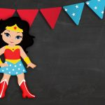 Printable wonder woman cute