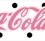 Rotulo Coca cola Panda Rosa Menina