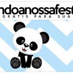 Rotulo Lapis Panda Azul