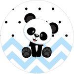Rotulo Tubete 2 Panda Azul