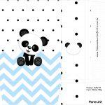 Sacolinha Surpresa 2 2 Panda Azul