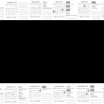 Calendario 2019 sem Fundo
