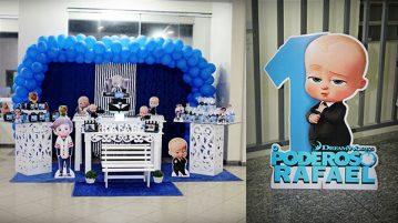 Festa 1 ano Poderoso Chefinho Rafael 1