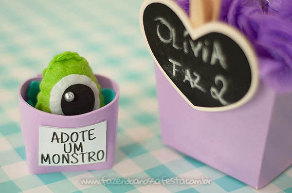 Festa Infantil Monstros SA da Olivia 11