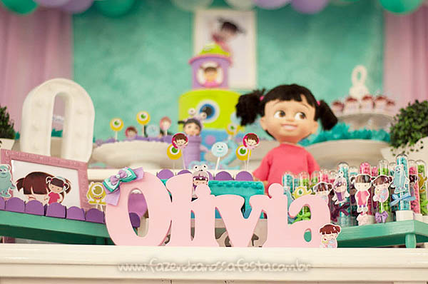 Festa Infantil Monstros SA da Olivia 14