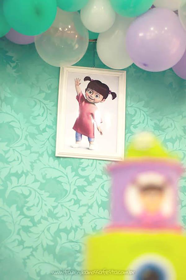 Festa Infantil Monstros SA da Olivia 22