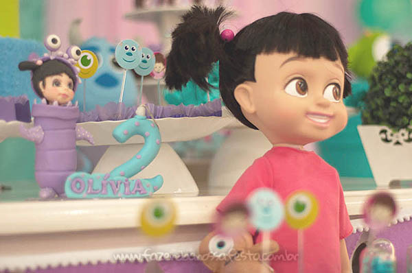Festa Infantil Monstros SA da Olivia 28