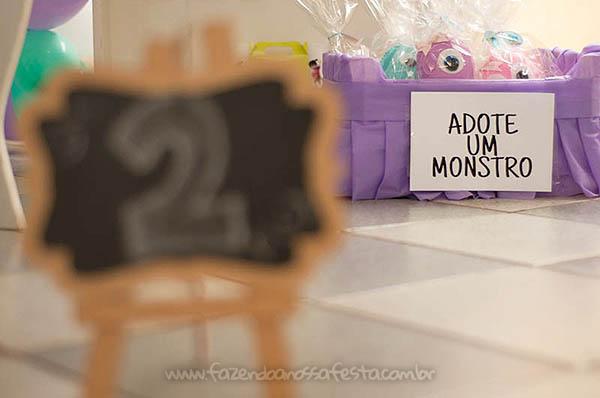 Festa Infantil Monstros SA da Olivia 33