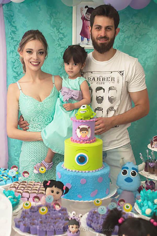 Festa Infantil Monstros SA da Olivia 5