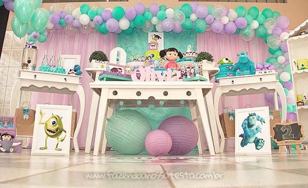Festa Infantil Monstros SA da Olivia 6