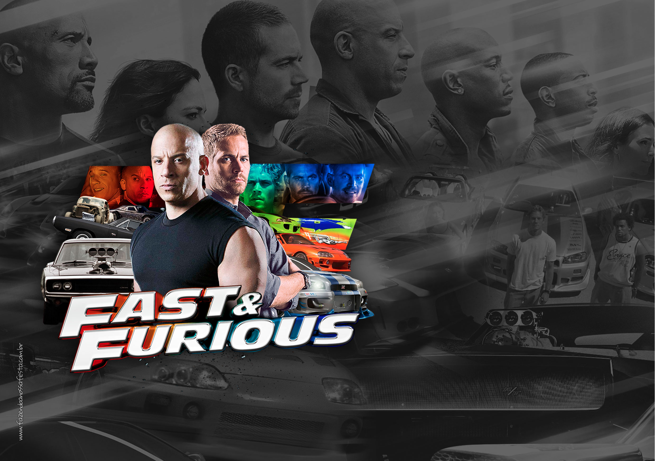 Printable Fast and Furious