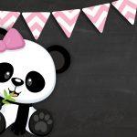 Printable Pink Panda 3