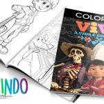 Livrinho para Colorir Viva a Vida é uma Festa Grátis para Imprimir
