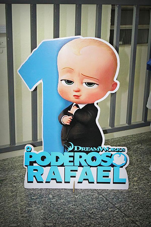 Totem Festa Poderoso Chefinho do Rafael 1