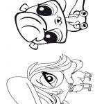 4 Livrinho para colorir Littlest Pet Shop