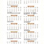 Calendario 2022 Lhama Amarela