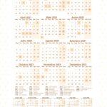 Calendario Lhama Bege 2021