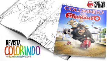 Capa Revista O Touro Ferdinando