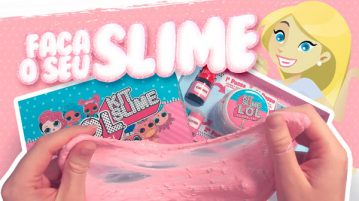 Como fazer Slime com o kit do blog