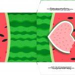 Bandeirinha Sanduiche 2 Kit Festa Melancia