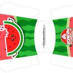 Envelope Fritas Melancia Personalizados para Imprimir