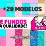 Kit Digital LOL Surprise – Papéis Digitais Grátis para Personalizar a festa