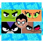 Kit Slime Jovens Titans base