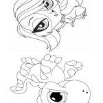 Livrinho de colorir Littlest Pet Shop 19