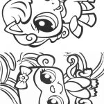Livrinho de colorir Littlest Pet Shop 9