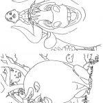 Livrinho de colorir O Touro Ferdinando 10