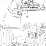 Livrinho de colorir O Touro Ferdinando 9