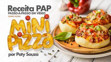 Mini Pizzas Caseira Receita facil de fazer