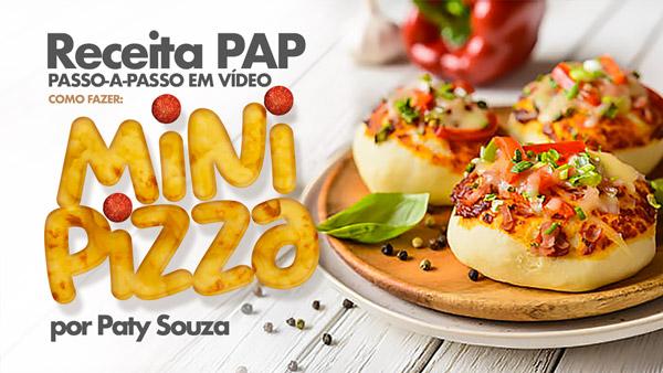 Mini Pizza Caseira Receita facil de fazer