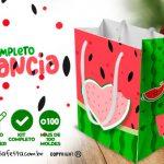 Personalizados Melancia Artes Gratuitas para Festa Infantil