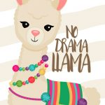 Planner 2019 Lhama Amarela capa