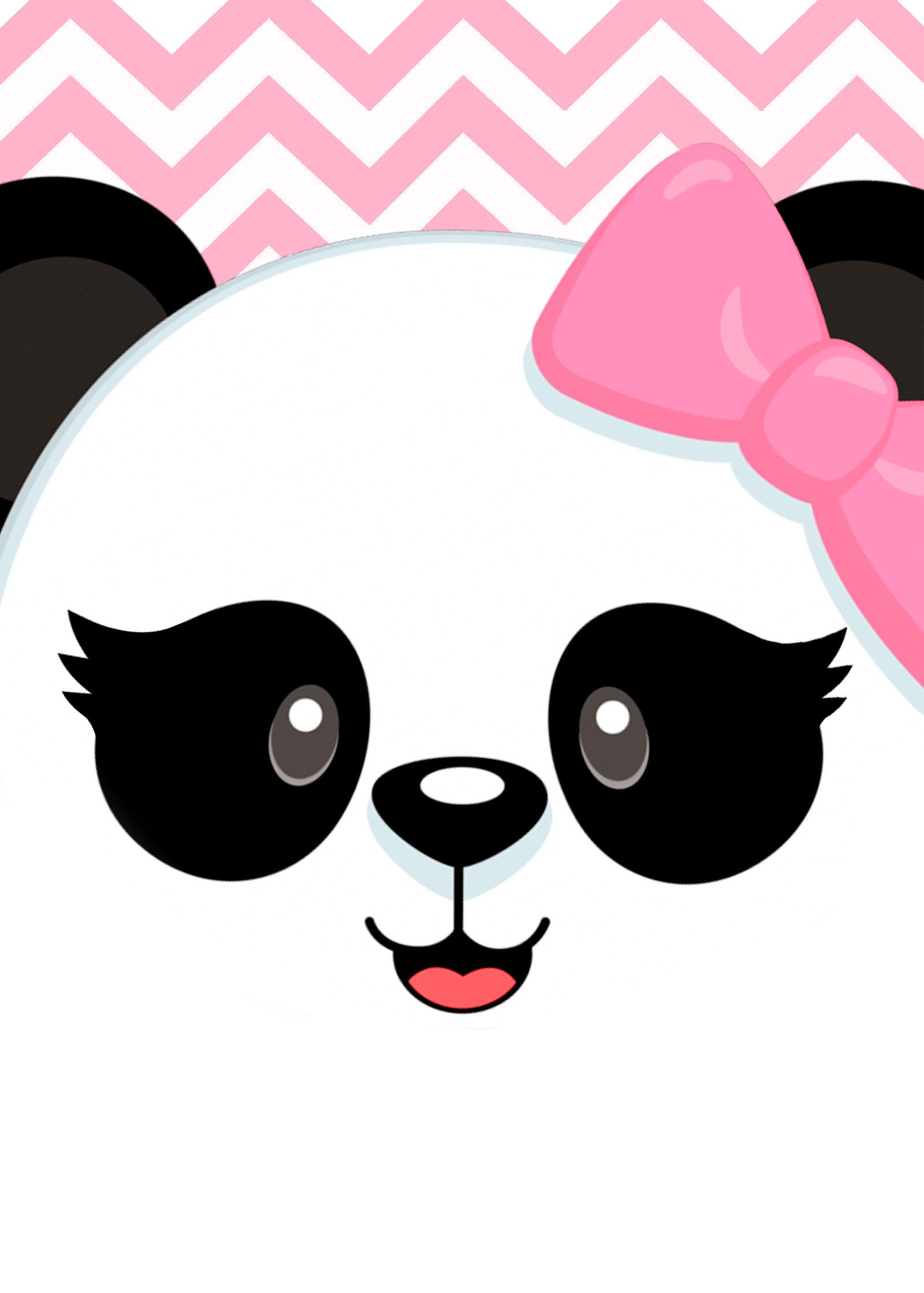 Planner 2019 Panda Rosa capa