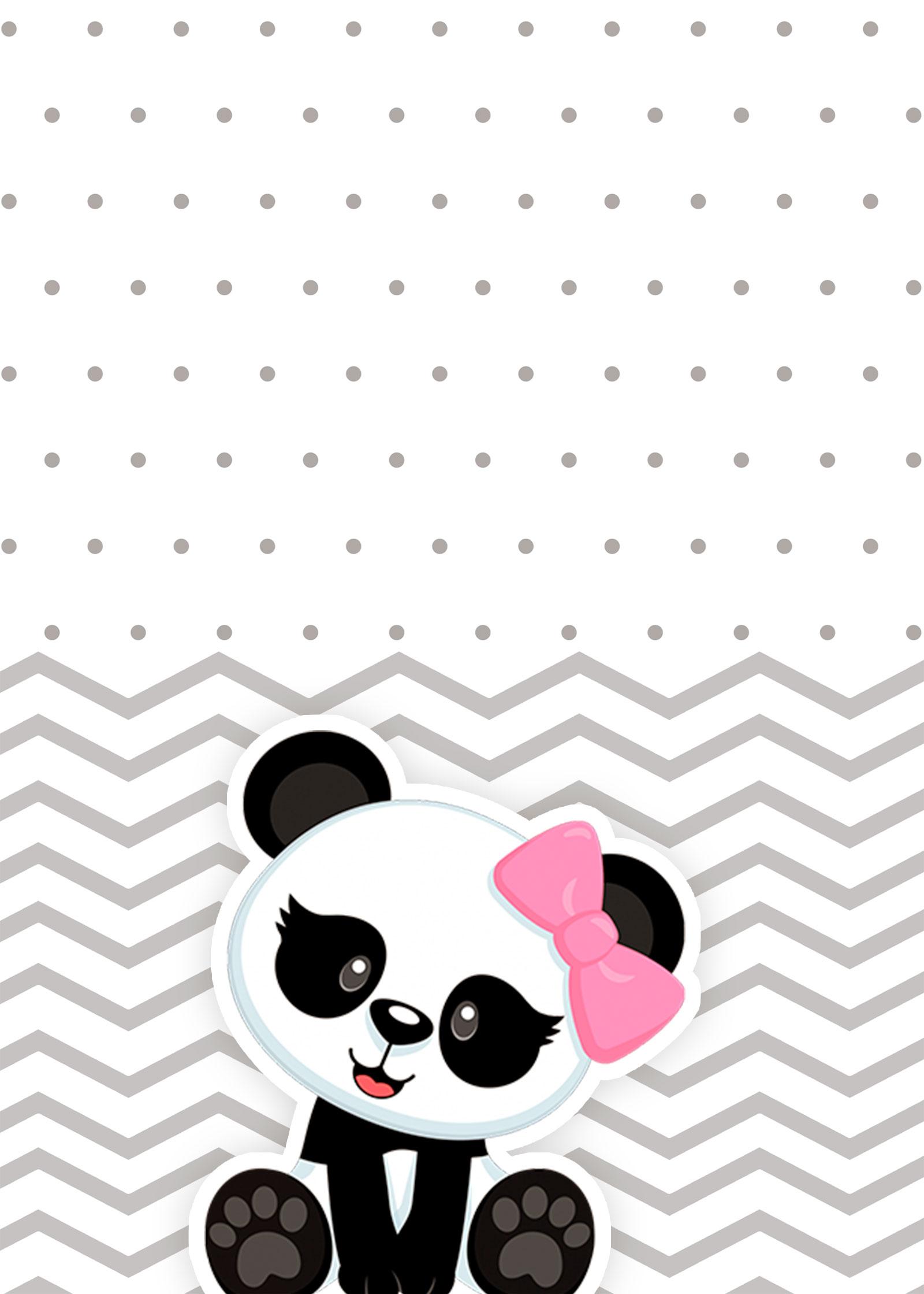Planner 2019 Panda Rosa contracapa